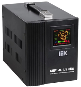 Стабилизатор IEK HOME 1,5 кВА (СНР1-0-1,5)