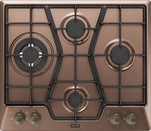 Газовая варочная панель Korting HG 6115 CTRC коричневый