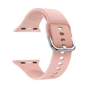 Силиконовый ремешок для Apple Watch 42/44 mm LYAMBDA AVIOR DSJ-17-44-PK Light pink / DSJ-17-44-PK