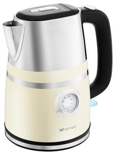 Чайник электрический Kitfort КТ-670-3 бежевый