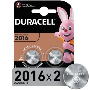 Батарейки  Duracell DL/CR2016-2BL