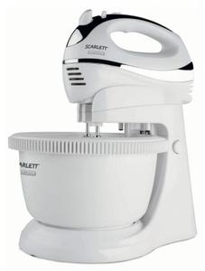 Миксер стационарный Scarlett SC-HM40B01 450Вт белый