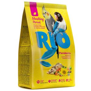 RIO / Корм для средних попугаев в период линьки 500 гр.