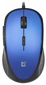 Мышь проводная Defender Accura MM-520 синий