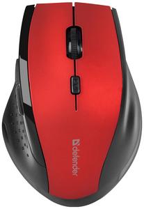 Мышь беспроводная Defender Accura MM-365 красный