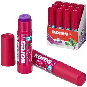 """Клей-карандаш Kores """"Chameleon"""", 08г, фиолетовый"""