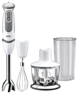 Погружной блендер Braun MQ 5035 Sauce/750Вт/метал/белый/серый,  Неполная; нет венчика и ножа