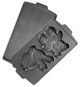 Панель Redmond RAMB-30 Медведь и заяц для мультипекаря черный
