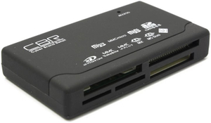 CBR < CR 455 > USB2.0 CF / MD / MMC / SDHC / microSDHC / xD / MS ( / Pro / M2) Card Reader / Writer