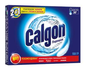 Порошок для смягчения воды в стиральных машинах Calgon 2в1 550гр