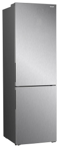 Холодильник Sharp SJB320EVIX серебристый