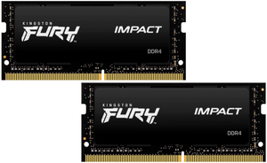 Оперативная память Kingston FURY Impact [KF432S20IBK2/16] 16 Гб DDR4