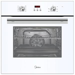 К 20. Встраиваемая независимая электрическая духовка Midea MO 47000 GW, (разбито стекло)