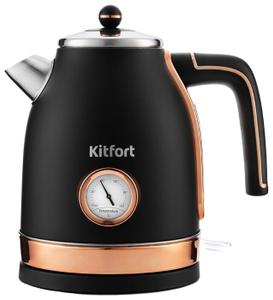 Чайник электрический Kitfort KT-6102-2 черный
