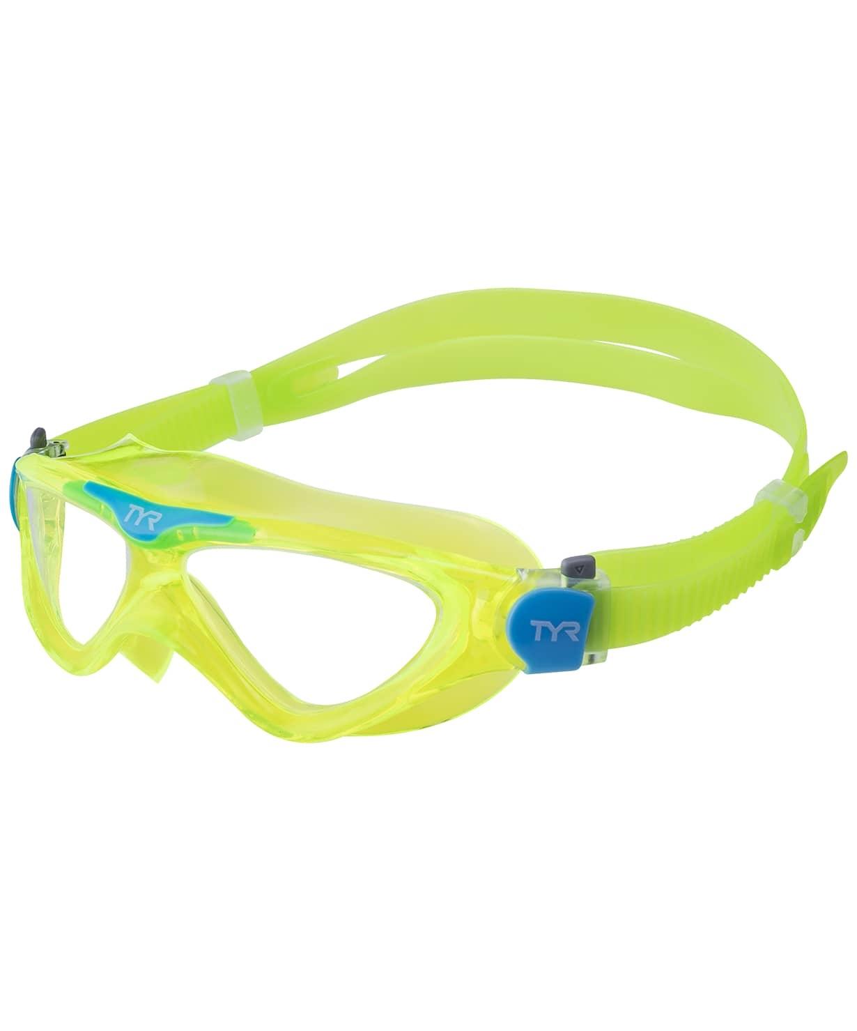 Маска для плавания Rogue Swim Mask Youth, LGRSMKD/892, зеленый