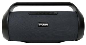 Портативная колонка Hyundai H-PAC420 серый/черный