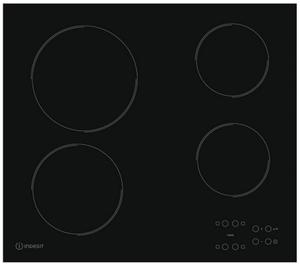 Электрическая варочная поверхность Indesit RI 161 C черный