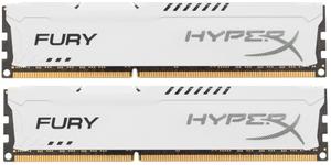Оперативная память HyperX FURY White Series [HX313C9FWK2/8] 8 Гб DDR3