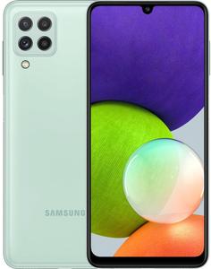Смартфон Samsung Galaxy A22 128 Гб мятный