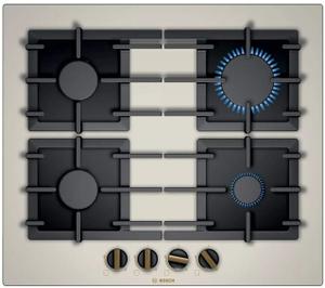 Газовая варочная панель Bosch PPP6B1B90R бежевый