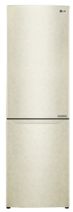 Холодильник LG GA-B419SEJL бежевый