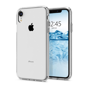 Накладка силиконовая Breaking для iPhone XR (Прозрачный)