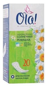 Прокладки ежедневные DAILY DEO Ромашка 20шт OLA!