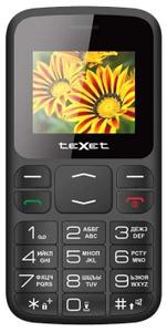Сотовый телефон teXet TM-B208 черный