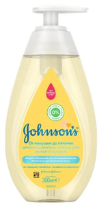 Шампунь От макушки до пяток 300мл Johnson's baby
