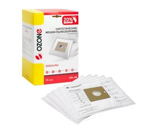 Пылесборники синтетические OZONE XXL-04 (12 шт.) для пылесосов Samsung