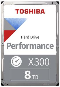 Жесткий диск Toshiba [HDWR480UZSVA] X300 8 ТБ