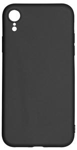 Клип-кейс Alwio для iPhone Xr, soft touch, чёрный (ASTIXRBK)