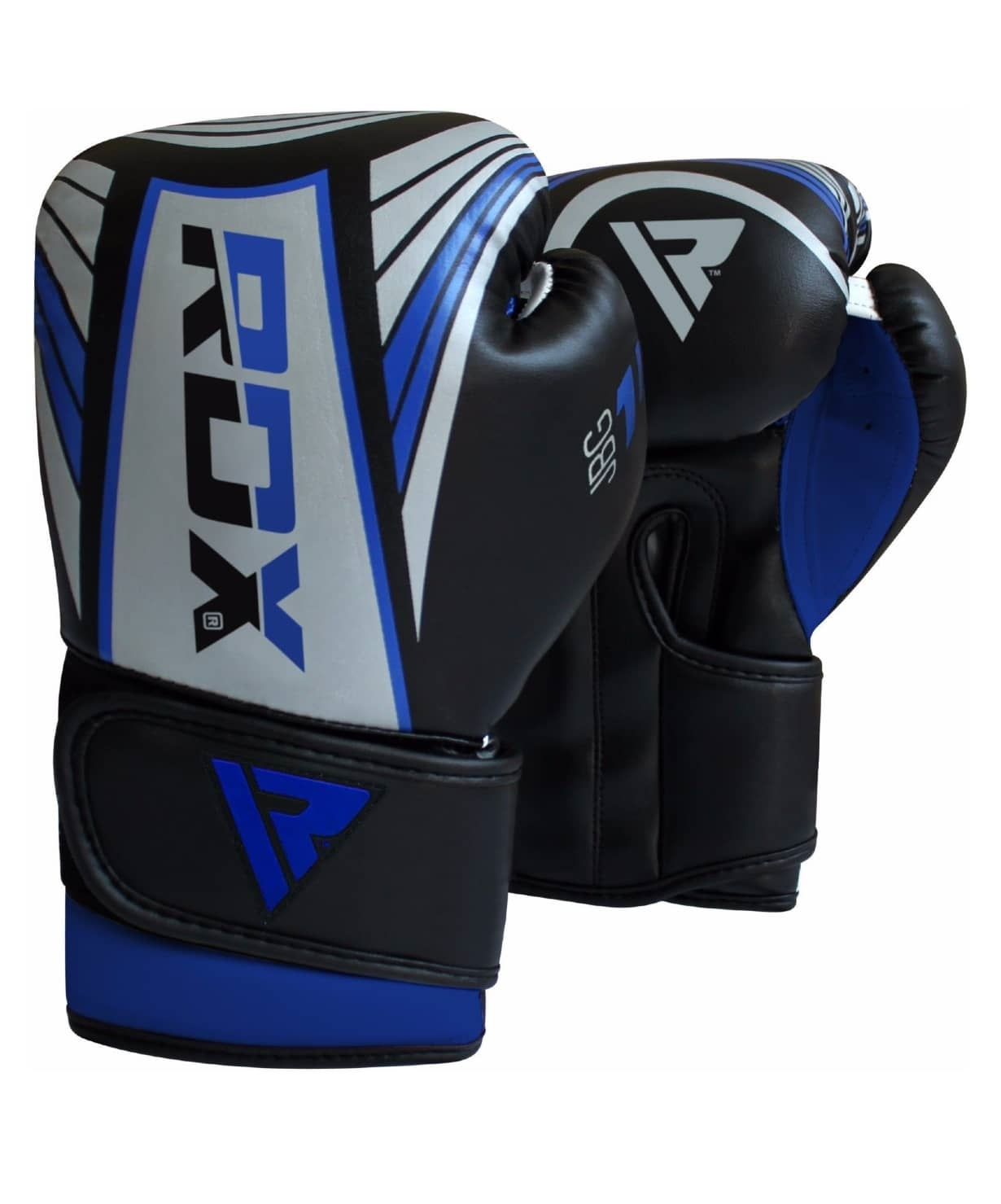 Перчатки боксерские KIDS JBG-1U SILVER/BLUE JBG-1U-6oz, 6 oz