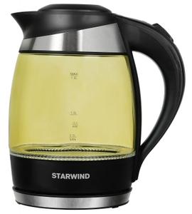 Чайник электрический StarWind SKG2215 желтый
