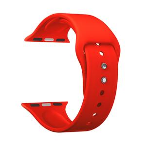 Силиконовый ремешок для Apple Watch 38/40 mm LYAMBDA ALTAIR DS-APS08-40-RD Red