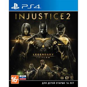 Игра на PS4 Injustice 2. Legendary Edition [PS4, русские субтитры]