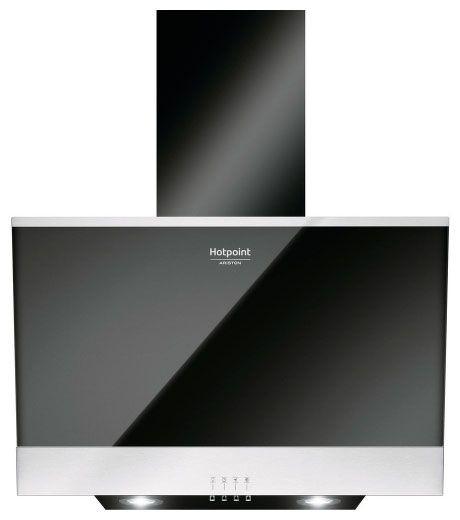 Вытяжка каминная Hotpoint-Ariston HHVP 6.6F LM K черный