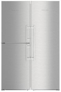 Холодильник Liebherr SBSes 8483-21 001 серебристый