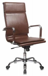 Кресло офисное Бюрократ CH-993 коричневый