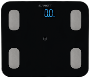 Весы напольные Scarlett SC-BS33ED46 черный