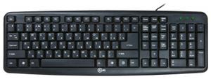 Клавиатура проводная CBR KB 107 USB черный