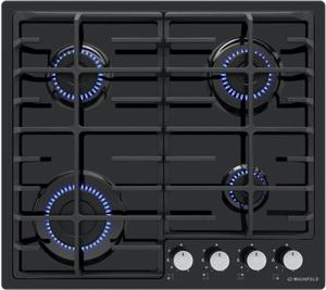 Газовая варочная панель MAUNFELD EGHE.64.6CB/G черный