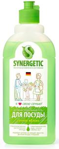 Средство для мытья посуды Яблоко 0.5 л Synergetic