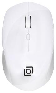 Мышь беспроводная Oklick 565MW Glossy белый