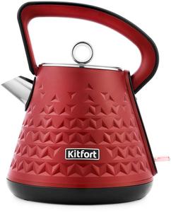 Чайник электрический Kitfort КТ-693-2 красный