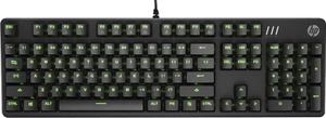 Клавиатура проводная HP Pavilion 550 черный
