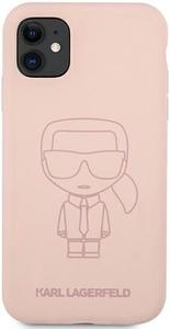 Чехол накладка Lagerfeld для Apple iPhone 11 розовый
