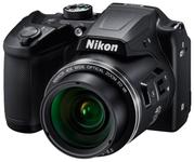"Фотоаппарат Nikon CoolPix B500 черный 16Mpix Zoom40x 3"" 1080p SDXC/SD/SDHC CMOS 1x2.3 1minF turLCD VF HDMI/WiFi/EN-MH2"