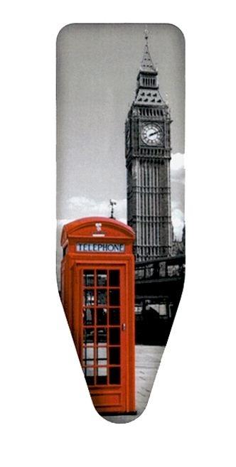 Чехол д/гл.доски London 130х50см из хлопка