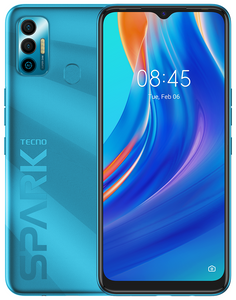Смартфон TECNO Spark 7 64 Гб синий